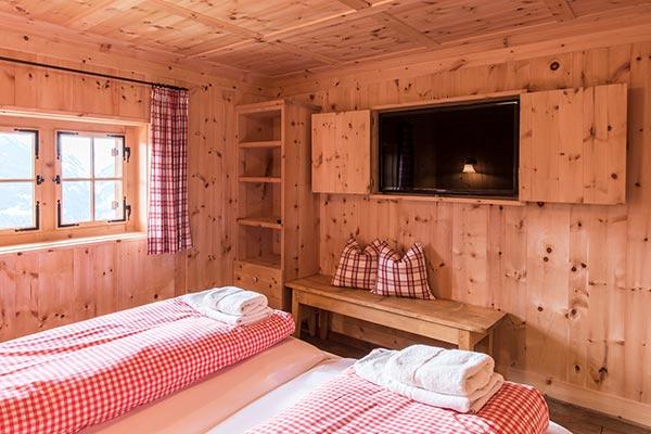 Mountain lodge Bartholomäberg in the Montafon - sleeping