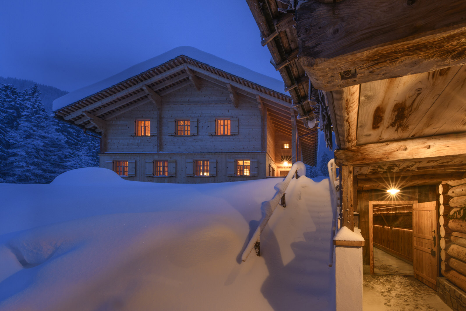 Exclusive mountain lodge Gauertal
