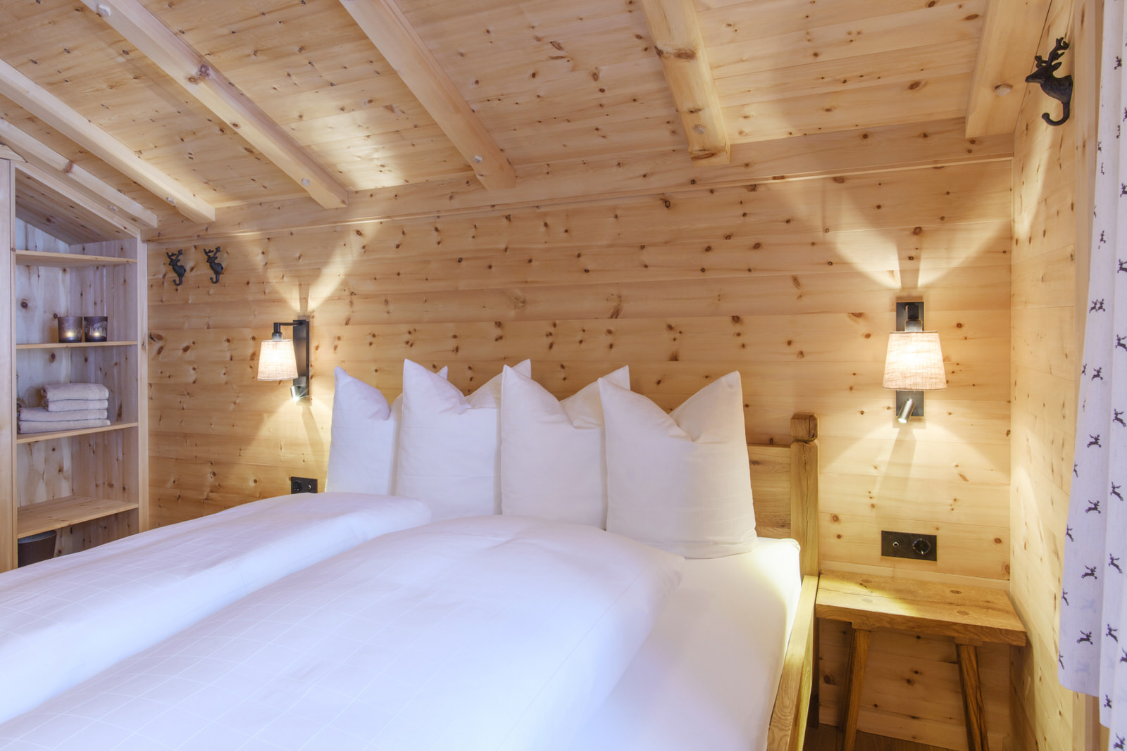 Exclusive mountain lodge Gauertal Montafon - sleeping