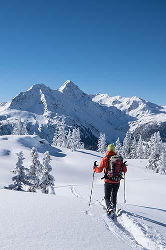 Winterwandern Montafon