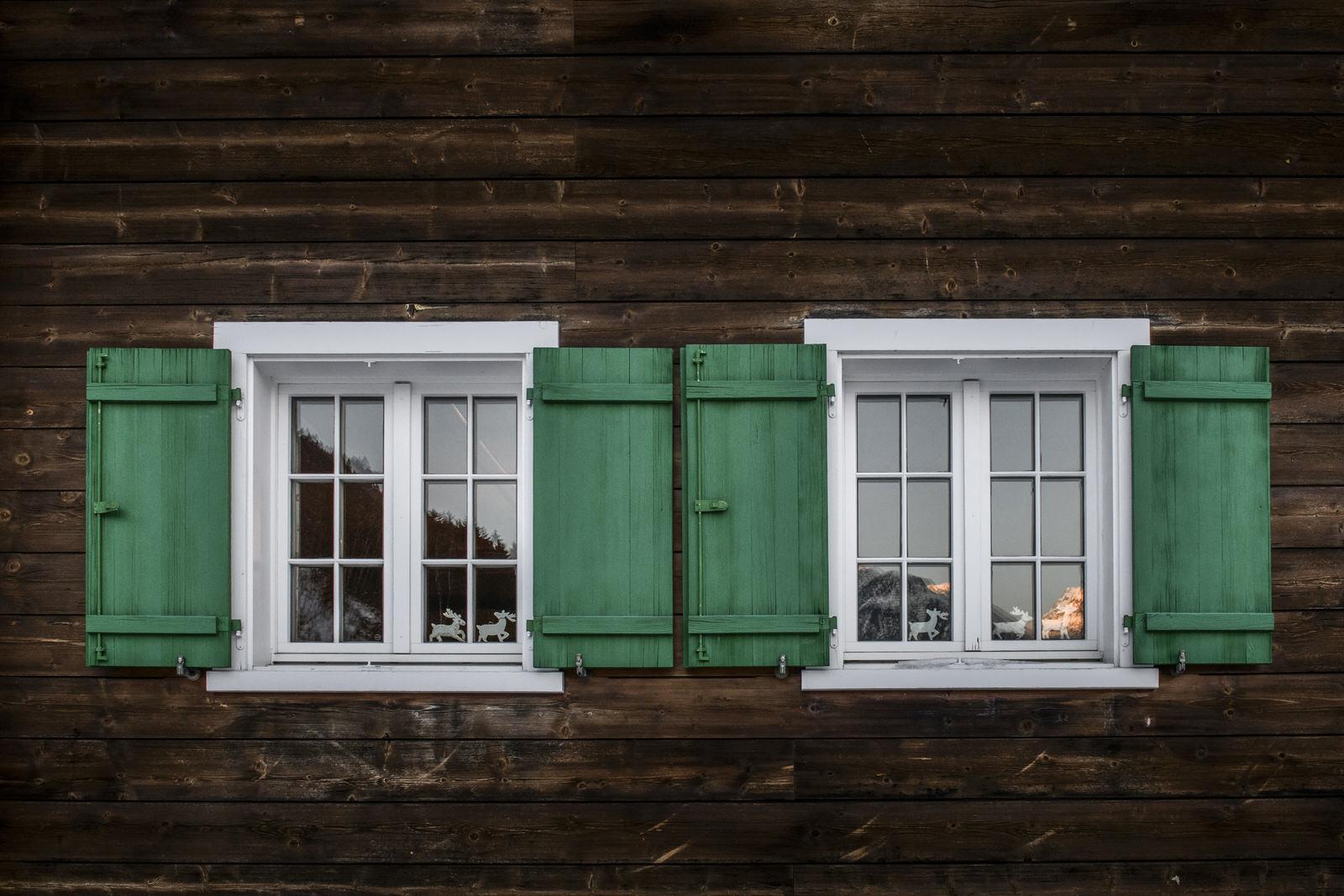 Landhaus Bärenwald Fenster Montafon