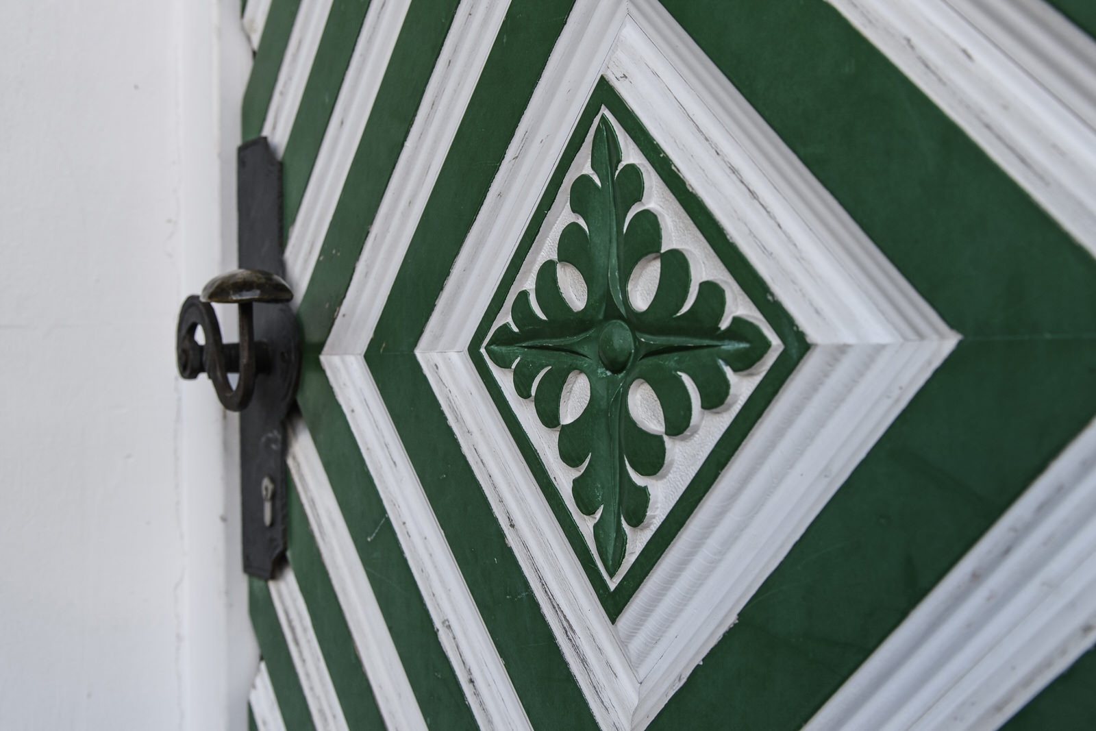 Landhaus Bärenwald Haustür Montafon