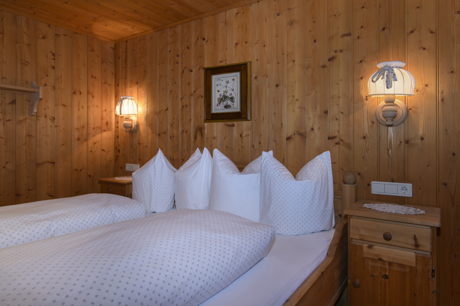 Bärenwald country lodge in the Montafon - sleeping
