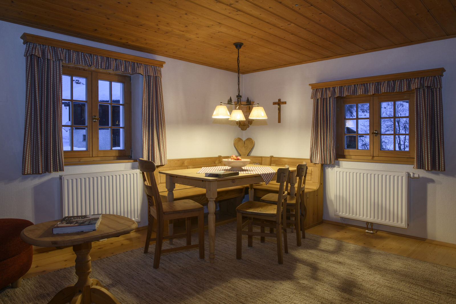 Bärenwald country lodge in the Montafon - living