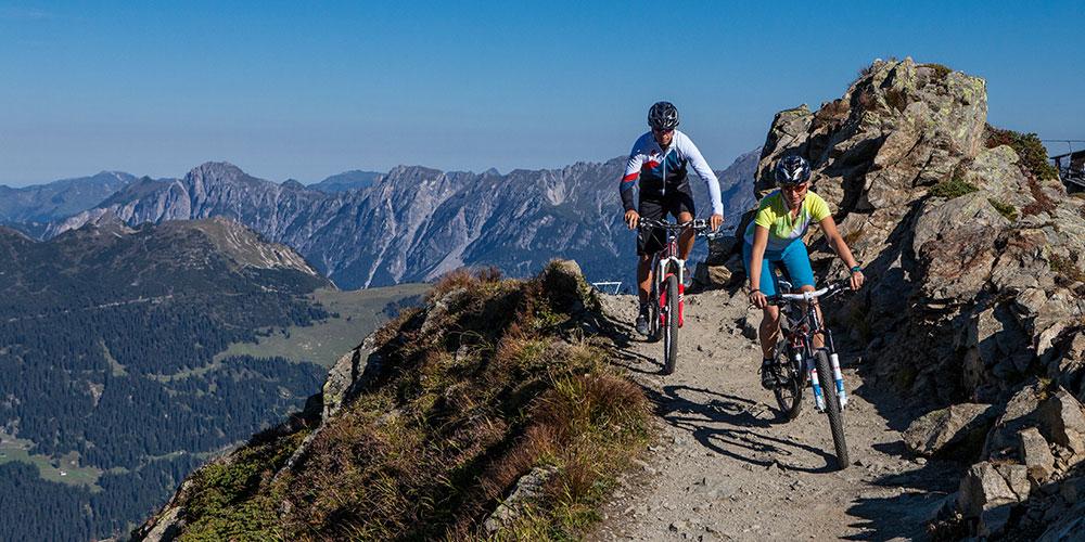 Silvretta Montafon Mountain biking