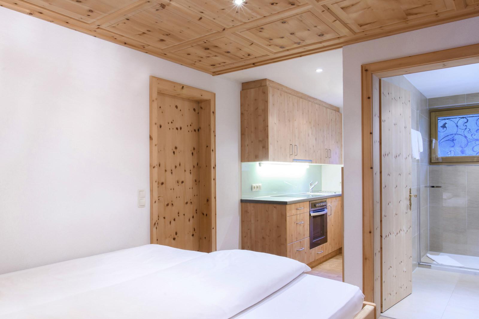 Waldhaus Rappenkopf Schlafzimmer Montafon