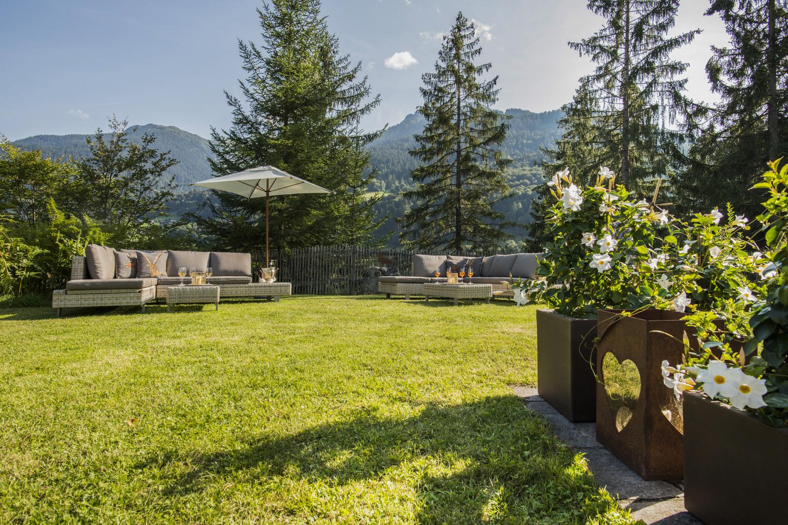 Waldhaus Rappenkopf Lounge Montafon