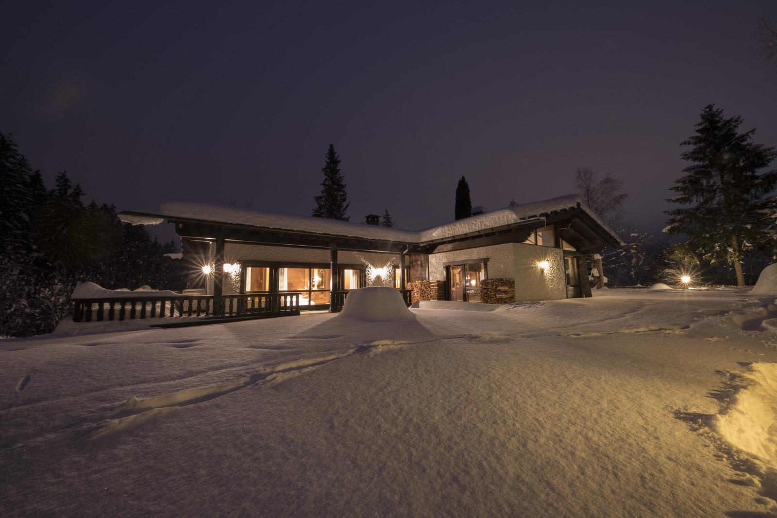 Rappakopf Forrest house in the Montafon - winter