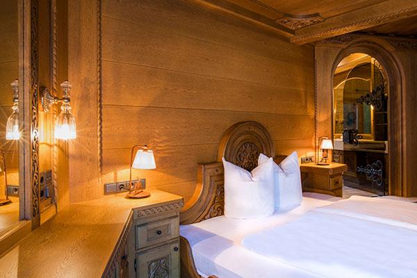 Schlafzimmer Waldhaus Rappenkopf Montafon