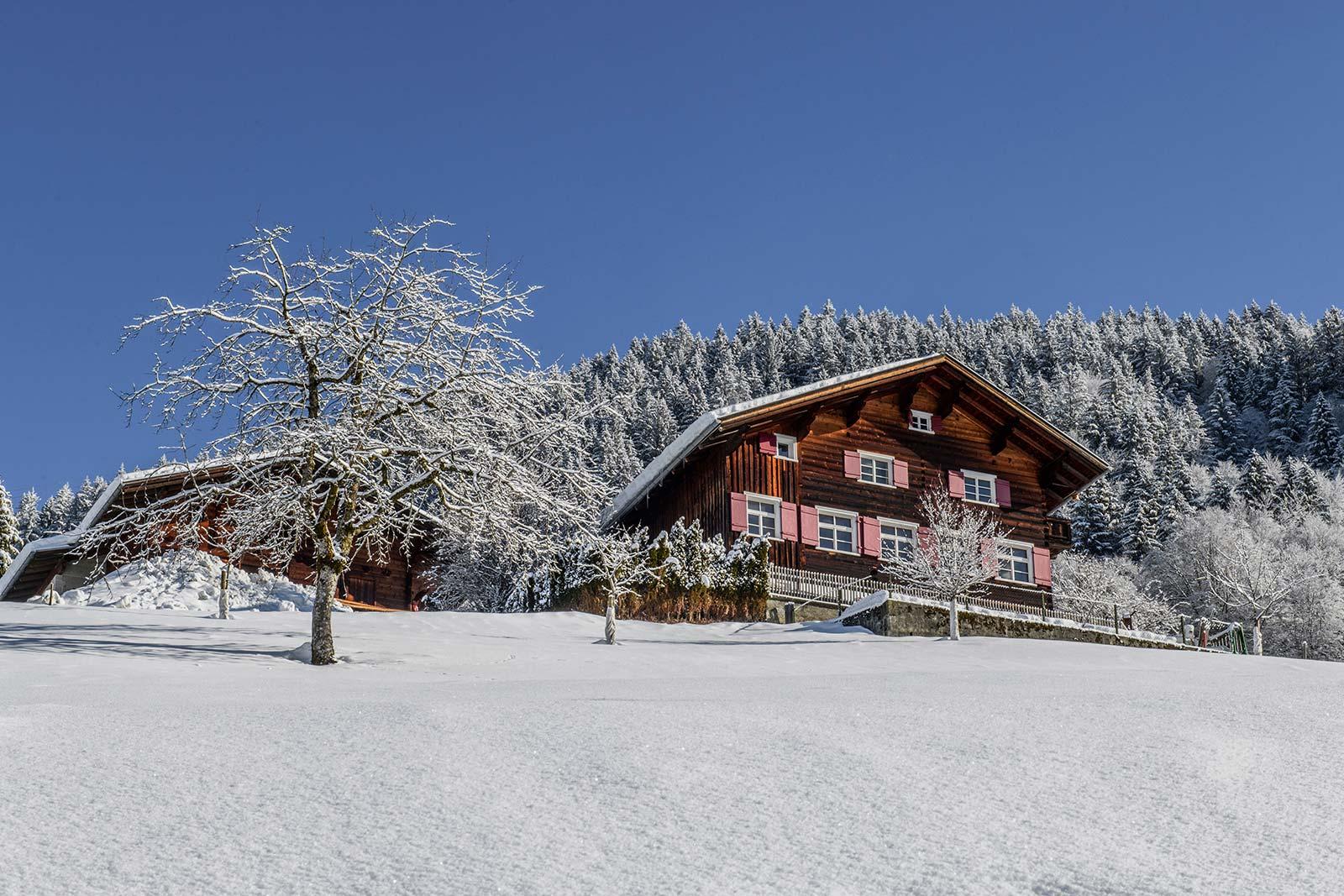 Altes Schulhaus Winter, Schruns Montafon
