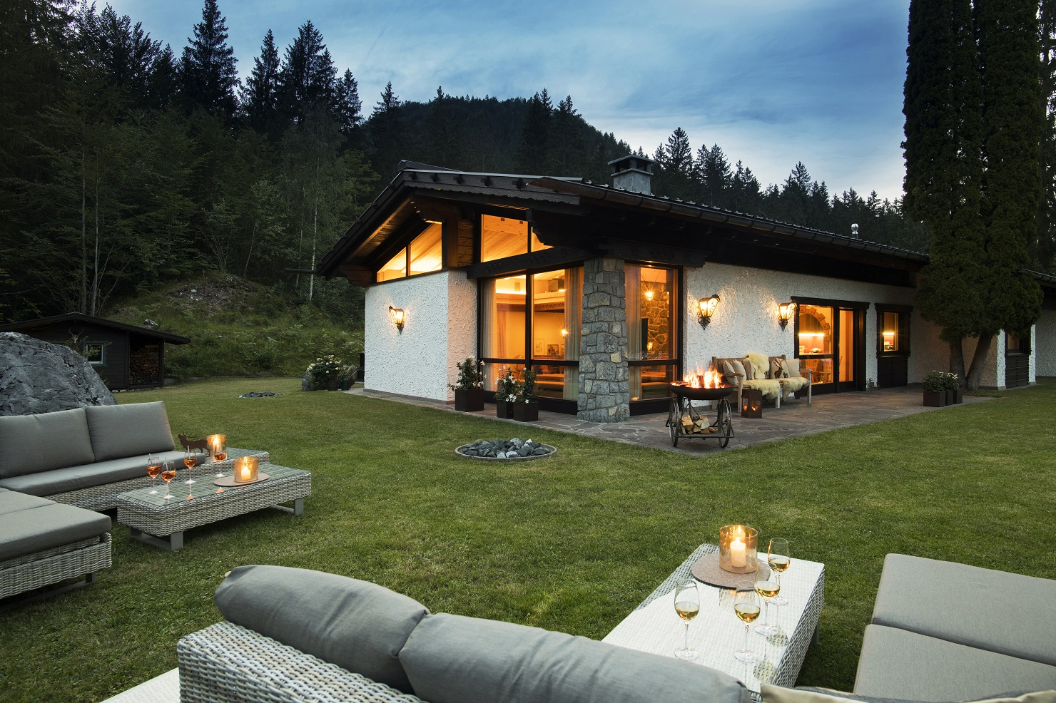 The Rappakopf Forrest house in the Montafon