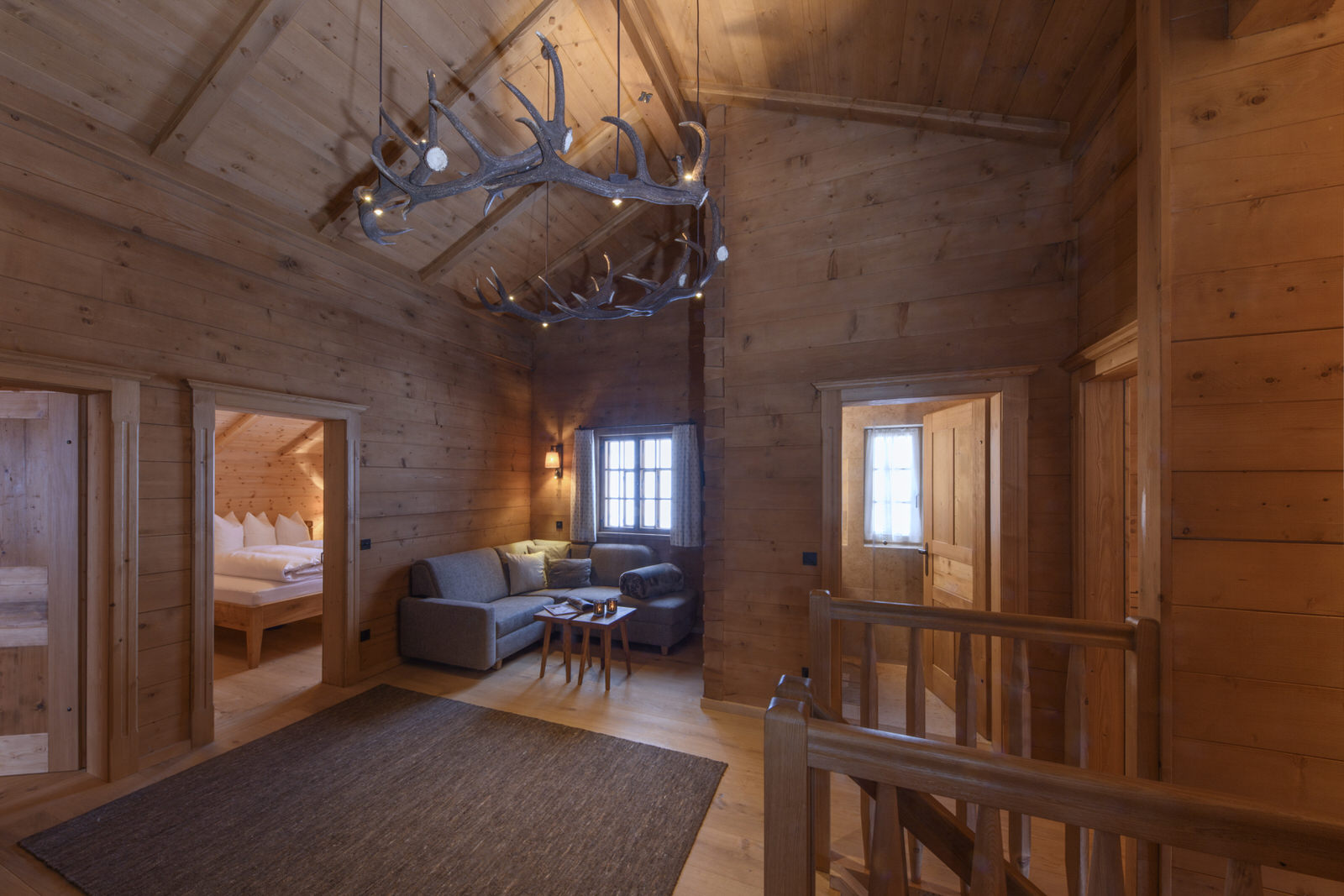 Exclusive mountain lodge Gauertal Montafon - open field