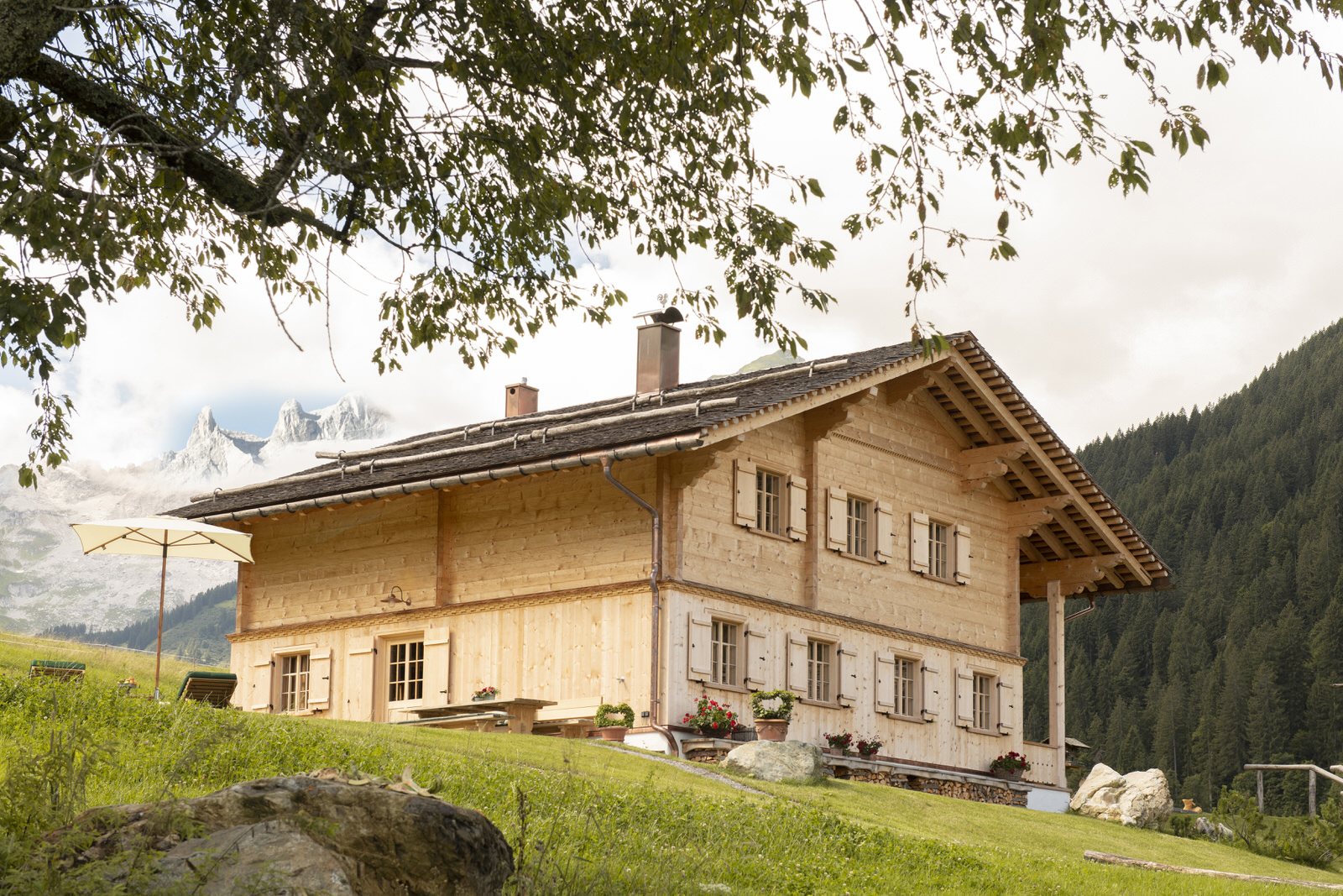 Exclusive mountain lodge Gauertal Montafon