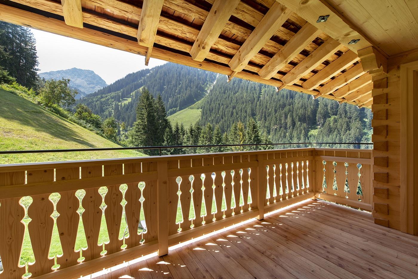 Berghaus Manuaf Balkon