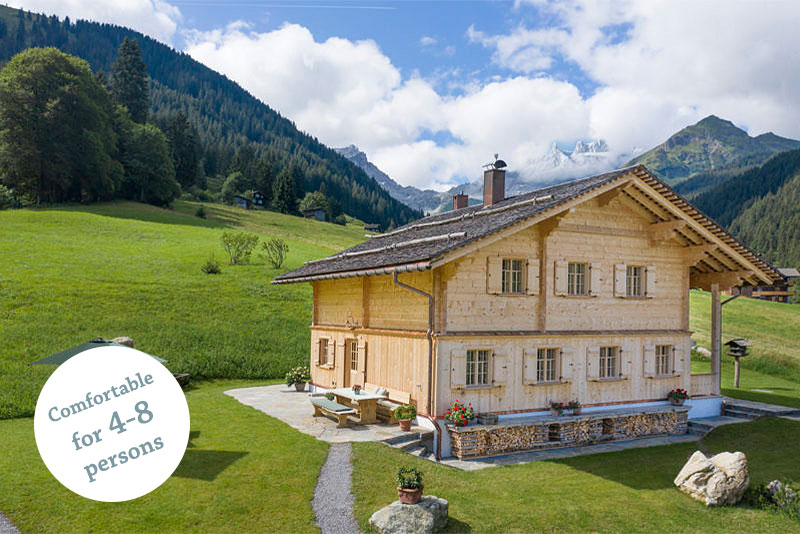 Mountain lodge Gauertal Montafon