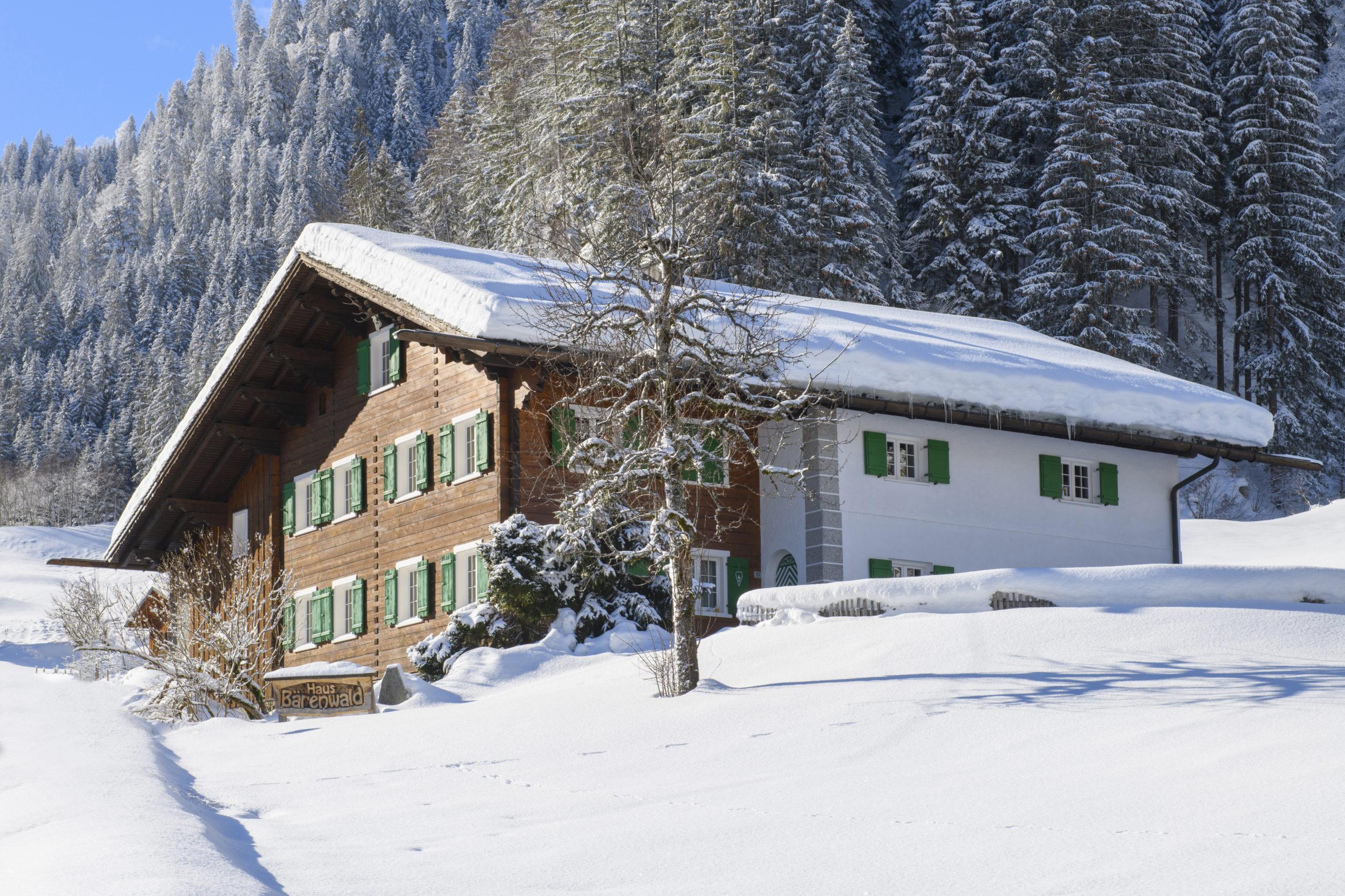 Landhaus Bärenwald Winter
