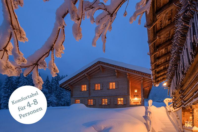Berghaus Gauertal Montafon Winter
