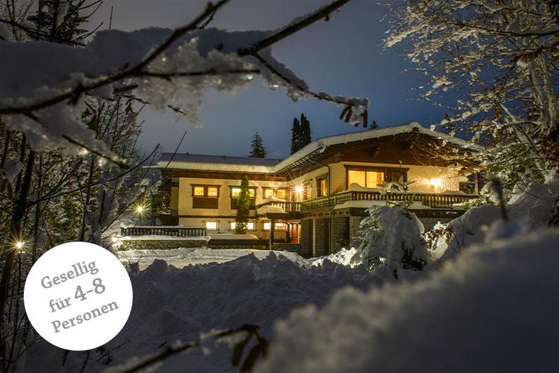 Waldhaus Rappakopf Montafon Winter