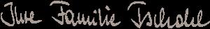 Unterschrift Familie Tschohl